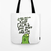 Keep Calm and stay Amazing Tote Bag