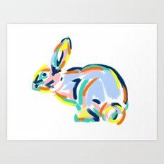 Hopps Art Print
