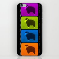 Mixed Sheeps iPhone & iPod Skin