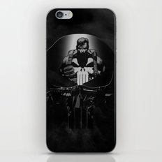 The Punisher iPhone & iPod Skin