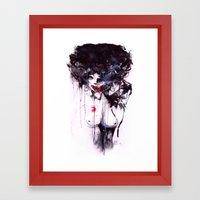 Gentle Max Framed Art Print