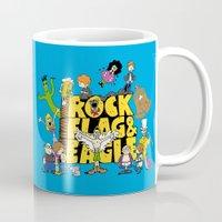 Rock, Flag & Eagle Mug