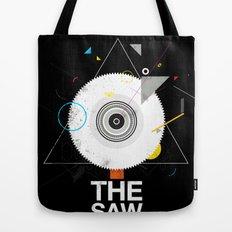 The saw tree Tote Bag