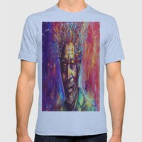 Morgan Freeman Mens Fitted Tee Athletic Blue SMALL