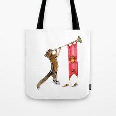 Herald Chipmunk Tote Bag
