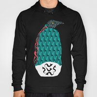 Abstract Penguin Hoody