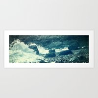 The Sea I. Art Print