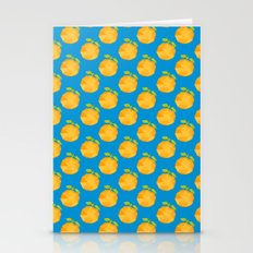 Polygon Peaches Abstract… Stationery Cards