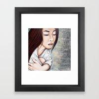 Forgetting Framed Art Print