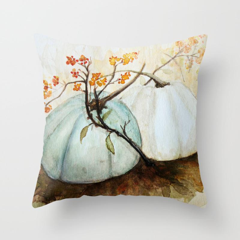 Illustration Throw Pillows Society6