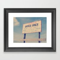 Office Space Framed Art Print