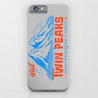 Visit Twin Peaks (orange) iPhone 6 Slim Case