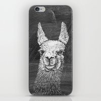 Black White Vintage Funn… iPhone & iPod Skin