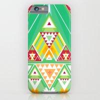 Triangle Indigenous Patt… iPhone 6 Slim Case