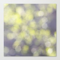 Muted greens Canvas Print