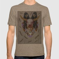 WILDFOX SPARKLE  Mens Fitted Tee Tri-Coffee SMALL