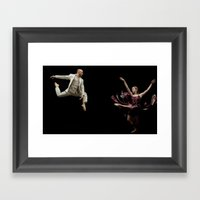Bodyvox Duo One Framed Art Print