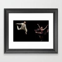 Bodyvox Duo One Framed Art Print