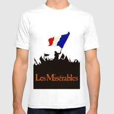 Les Miserables SMALL Mens Fitted Tee White