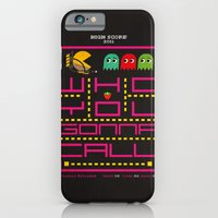 iPhone & iPod Case featuring pacman ghostbuster by danvinci