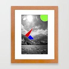 Strange Animals Framed Art Print