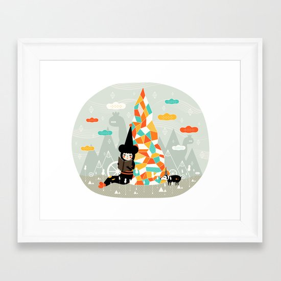 Those magical days... Framed Art Print