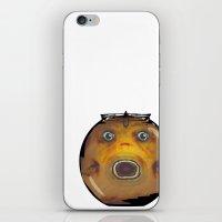 Fat Fish, Little Bowl iPhone & iPod Skin