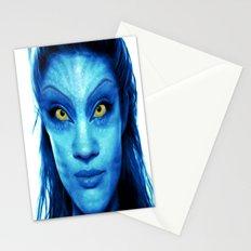 Angelina Jolie Avatar Stationery Cards