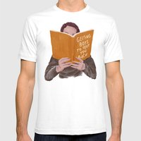 Studying (Gender Swap) Mens Fitted Tee White SMALL