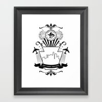 Don't Forget Your Roots … Framed Art Print