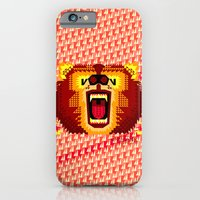 iPhone & iPod Case featuring Geometric Bear 2012 by chobopop