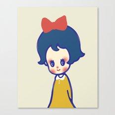 a little girl  Canvas Print
