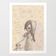 Don´t wake me up Art Print