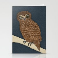 Boobook Owl Stationery Cards