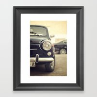 Seat 600 Framed Art Print