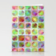 Four Citrus Fruits Patte… Stationery Cards
