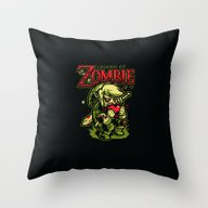 Legend Of Zombie Throw Pillow