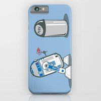 iPhone & iPod Case featuring Robot Crush by Kent Zonestar