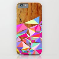 Wooden Multi Geo iPhone 6 Slim Case