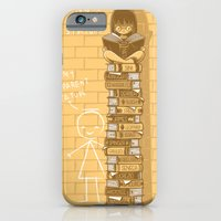 iPhone & iPod Case featuring Real stature by gebe