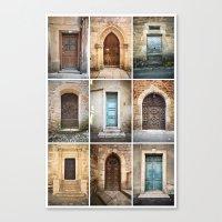 Nine Doors II Canvas Print