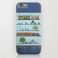 iPhone & iPod Case featuring London Fields by Stephen Longwill
