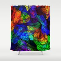 The Magic Of Color Shower Curtain