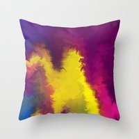 Magical Movement Throw Pillow