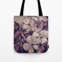 Geraniums -- Monochrome … Tote Bag
