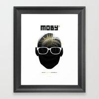 Moby DJ Set  Exclusive T… Framed Art Print