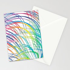 i'm a real wired one Stationery Cards