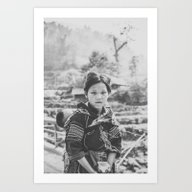 Lao Chai Villager Art Print