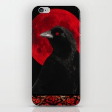 Gothic Red iPhone & iPod Skin