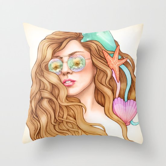 Free my mind, ARTPOP Throw Pillow